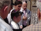 Jerusalén: la ceremonia del Bar-Mitzvah