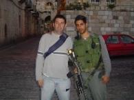 amigos en Jerusalén