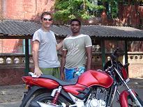 Chennai en moto