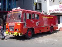 Bomberos en Chennai