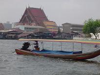 Barcos Río Chao Phraya