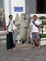 Templo Wat Po (Escuela de masaje)